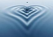 Wasser Herz